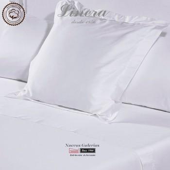 Linera Quadratische Kissenbezüge 300 Fäden | Luxury weiß