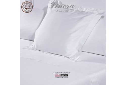 Linera Euro Sham 300 Thread Cotton | Luxury White