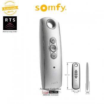 Mando a distancia Telis 1 RTS Silver - 1810637 | Somfy
