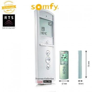 Télécommande Telis 16 RTS Pure | Somfy