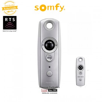 Mando a distancia Telis Modulis 1 RTS Silver - 1810975 | Somfy