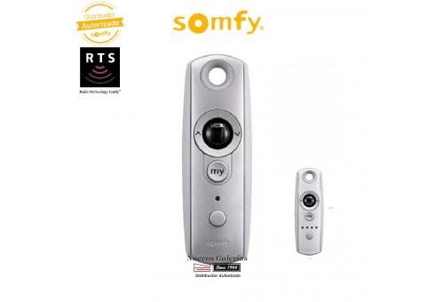 Telecomando monocanale radio RTS Telis Modulis 1 Silver   Somfy