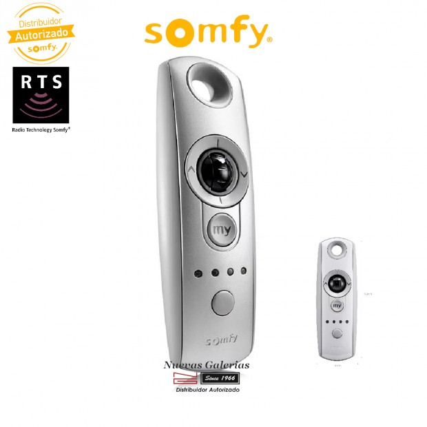 Telecomando multicanale radio RTS Telis Modulis 4 Silver | Somfy