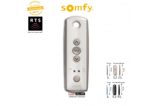 Mando a distancia Telis Soliris 1 RTS Pure - 1810634 | Somfy