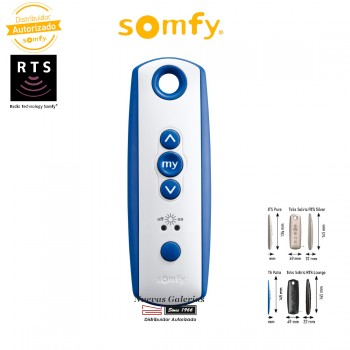 Mando a distancia Telis Soliris 1 RTS Patio - 1810646 | Somfy
