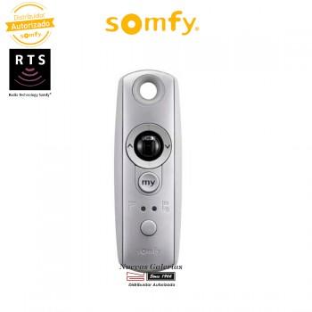 Mando a distancia Telis Modulis Soliris 1 RTS Silver - 1810666 | Somfy