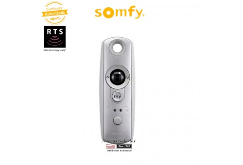 Télécommande Telis Modulis Soliris 1 RTS Silver | Somfy
