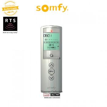 Mando a distancia Telis Chronis 6 RTS Silver - 1805210 | Somfy