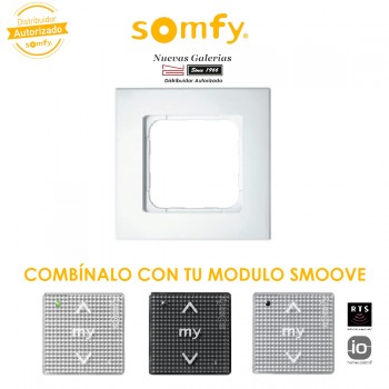 Pure White Frame | Somfy