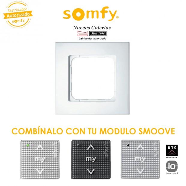 Smoove Rahmen Pure   Somfy