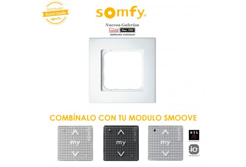 Pure White Frame | Somfy