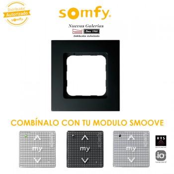 Cornice Black per moduli di comando Smoove | Somfy