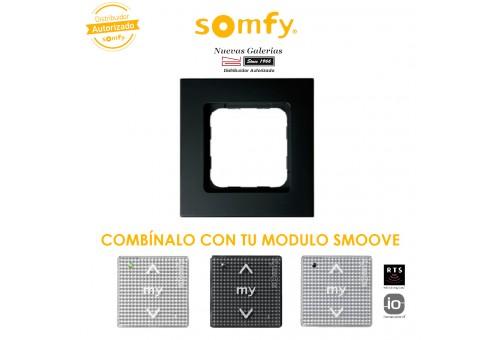 Cadre Smoove Black | Somfy