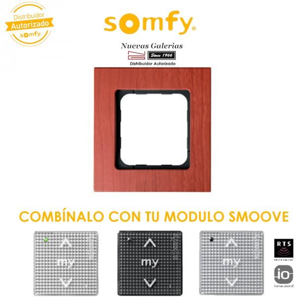Smoove Rahmen Cherry   Somfy