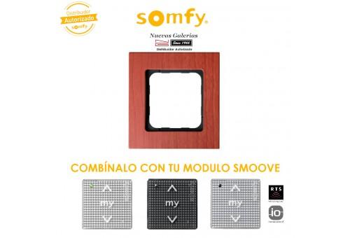 Smoove Rahmen Cherry | Somfy
