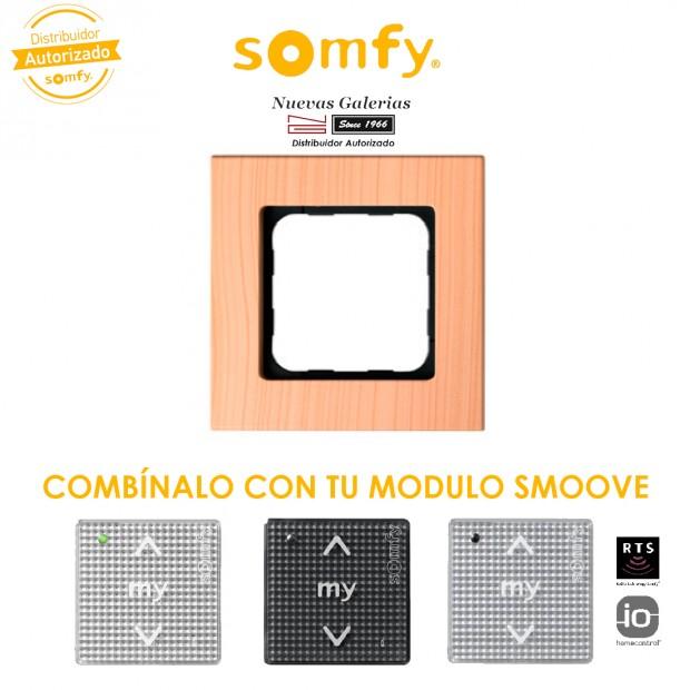 Smoove Rahmen Light Bamboo | Somfy