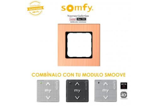 Cornice Light Bamboo per moduli di comando Smoove | Somfy