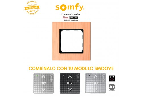 Marco Smoove Light Bamboo - 9015027 | Somfy