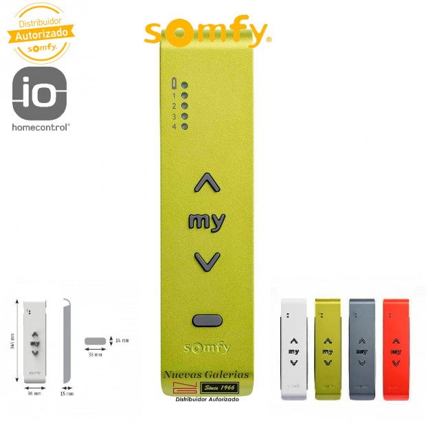 Télécommande Situo 5 IO Green   Somfy