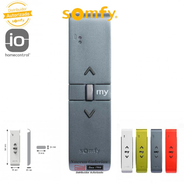Télécommande Situo Variation A/M 1 IO Titane   Somfy
