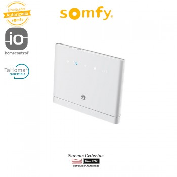Router movil Huawei + 3 ani conexion IO | Somfy