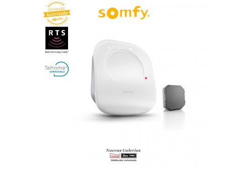 IO Smart Home Thermostat with Receiver - 2401499 | Somfy