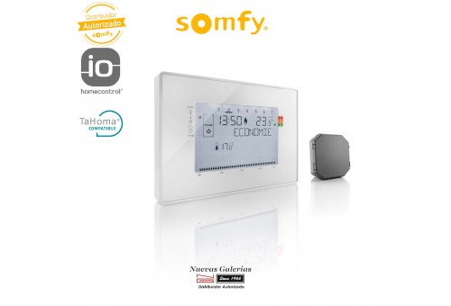 IO Programmable Thermostat with Receiver - 2401499 | Somfy