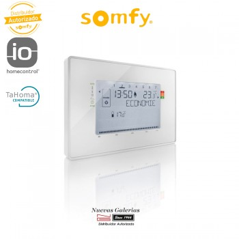 IO Cable Programmable Thermostat - 2401243 | Somfy