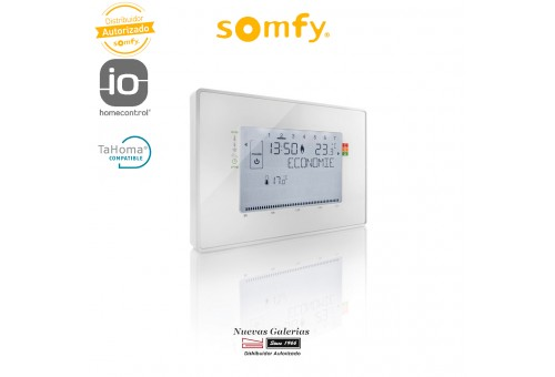 IO Cable Programmable Thermostat - 2401243   Somfy