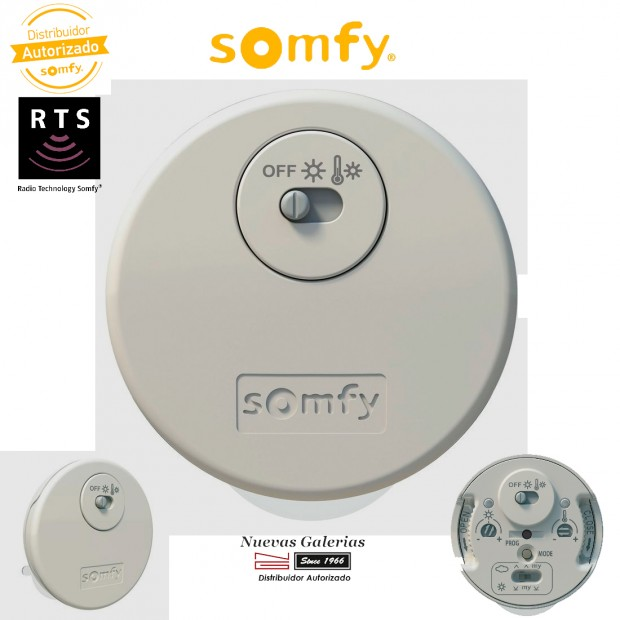 Sonnensensor Thermosunis Indoor Wirefree RTS - 9013708   Somfy