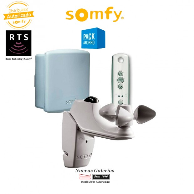 Kit SOLIRIS RTS - 1818207   Somfy