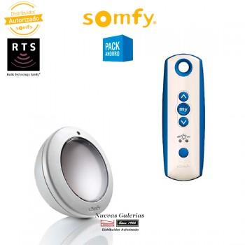 Kit Sunis y mando Soliris patio RTS - 1818144   Somfy