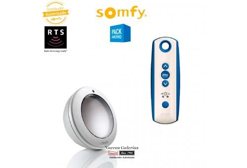 Kit Sunis y mando Soliris patio RTS - 1818144 | Somfy