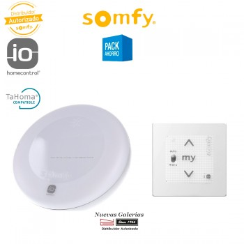Kit Sunis Wirefree II IO & Smoove A/M IO - 1818290 | Somfy