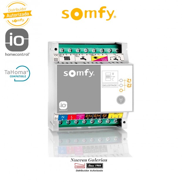 Contador de Consumo electrico 3 Fases IO - 1822455   Somfy
