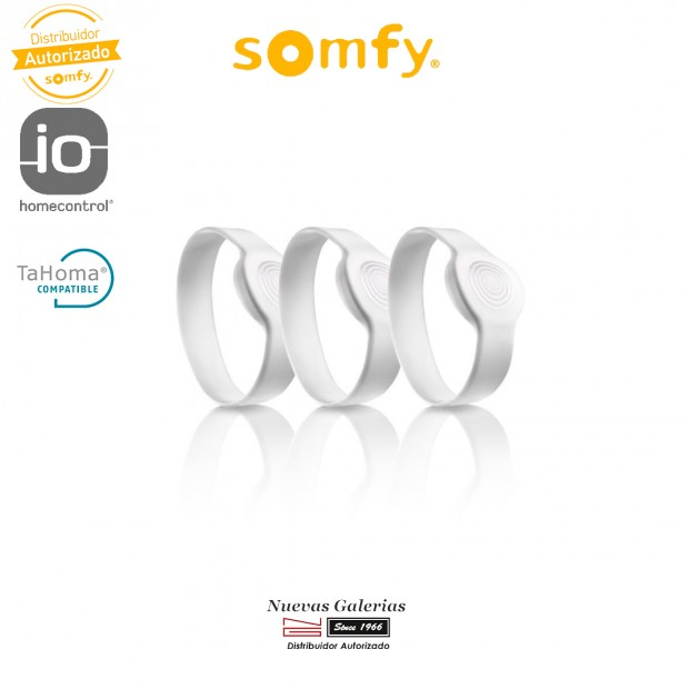 Kit da 3 blocchi collegati con bracciali adulti - 2401404 | Somfy