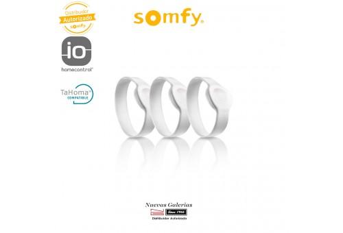 Pack de 3 verrous connectés pour bracelets adultes - 2401404 | Somfy