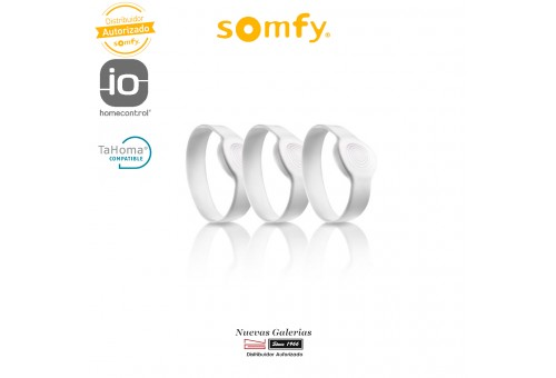 Pack of 3 Adult Bracelets Connected Lock - 2401404 | Somfy
