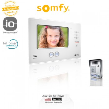 Interphone vidéo V200 White LM - 2401290 | Somfy