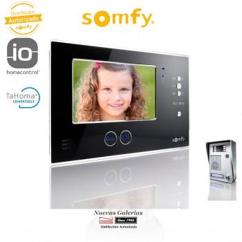 Video-Türsprechanlage V200 Black LM - 2401289 | Somfy