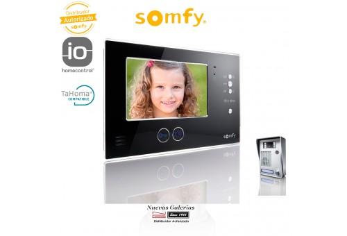 Videoportero V200 Negro LM - 2401289   Somfy