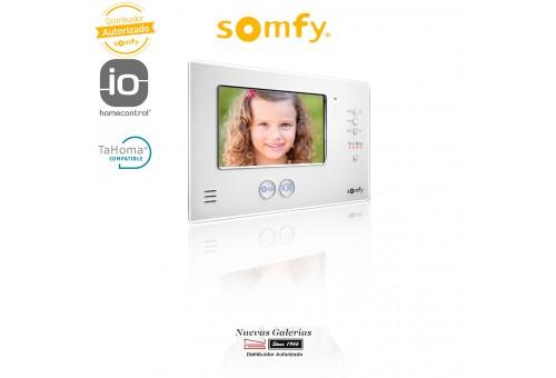 Additional Monitor Video Door Entry System V200 Black - 2401250 | Somfy