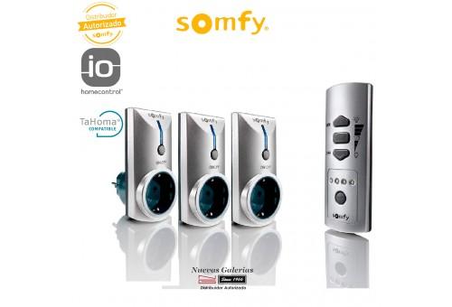 Kit da 3 connettori con telecomando - 2401199 | Somfy