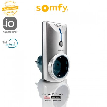 Enchufe Gris Control Remoto RTS Smart Home - 2401150 | Somfy