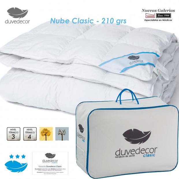 Duvedecor Duck Down Duvet 600 CUIN 210 grs| Nube Clasic 100X120