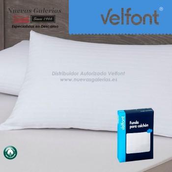 Funda de Cuscino Raso Labrado Bianco | Velfont
