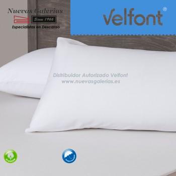 Funda de Almohada Respira Impermeable Blanca | Velfont