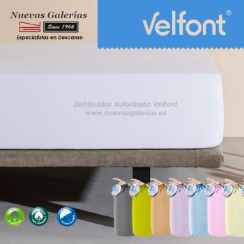 Velfont Spannbettlaken | Wasserdichter weiß