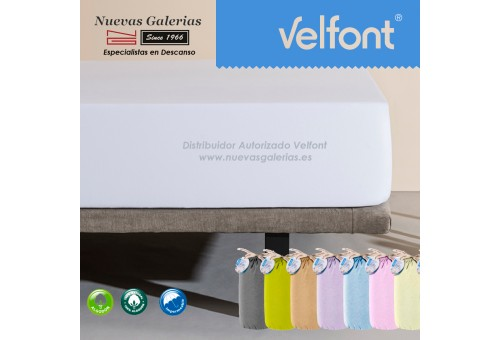 Velfont Fitted Sheet | Waterproof White