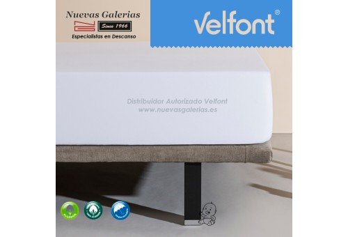Velfont Fitted Sheet | Waterproof White 60x120